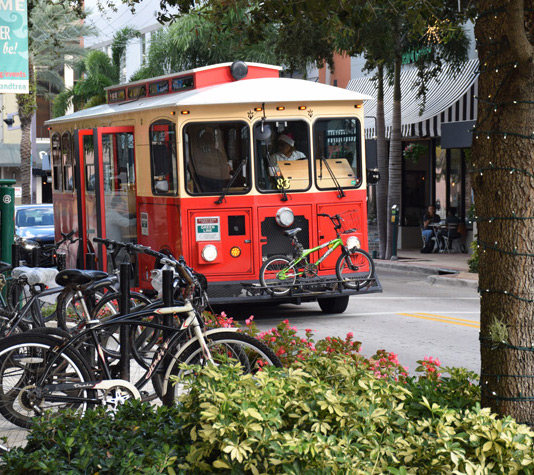 Red Trolly