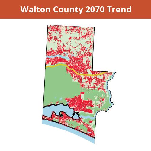 Walton County 2070 Trend