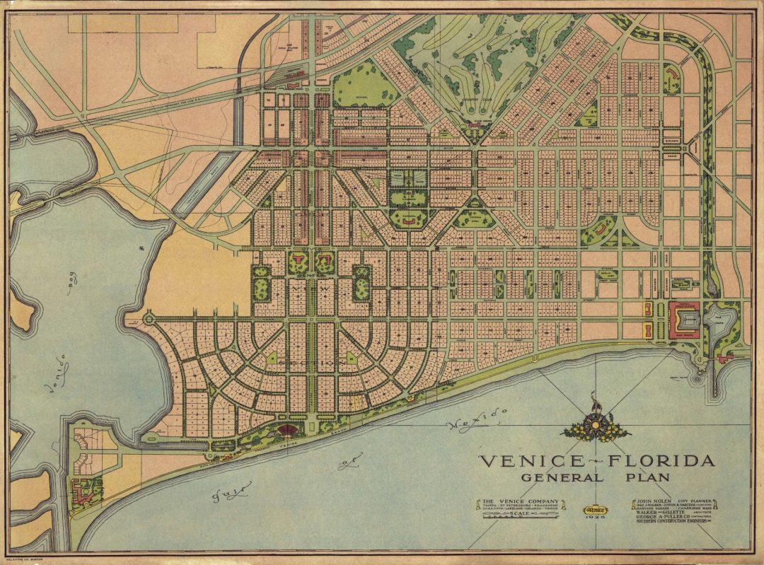 Venice Florida Map